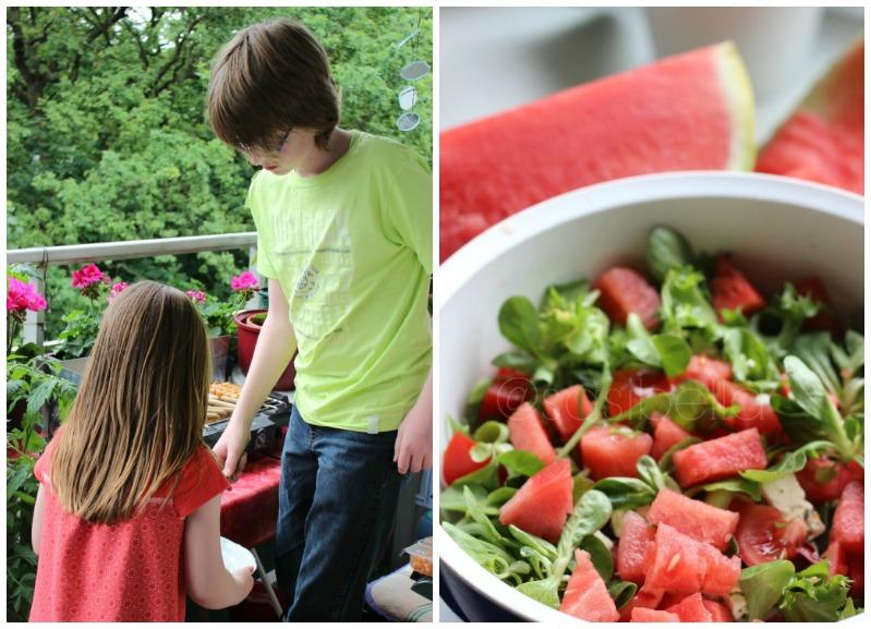 Von lauen Sommerabenden und leckerem Wassermelonensalat! 1