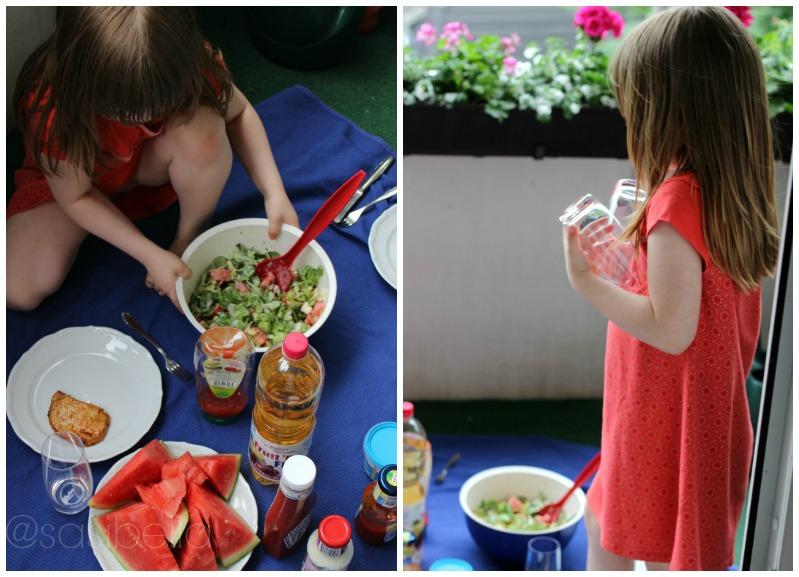 Von lauen Sommerabenden und leckerem Wassermelonensalat! 2