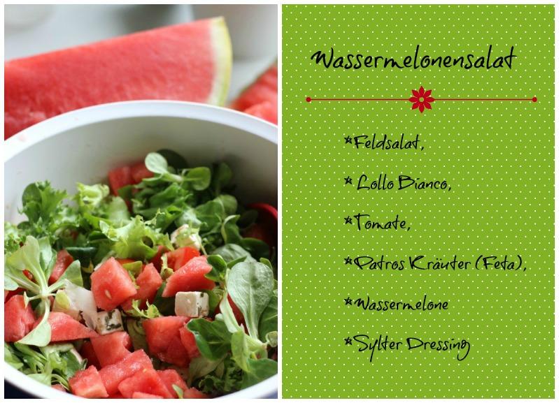 Von lauen Sommerabenden und leckerem Wassermelonensalat! 5
