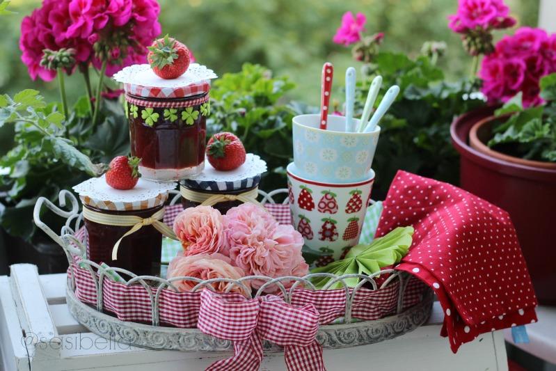 Erdbeerwoche Tag 6 - Verschiedene Sorten Erdbeermarmelade 13