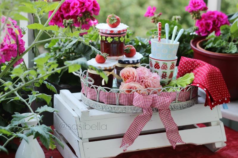 Erdbeerwoche Tag 6 - Verschiedene Sorten Erdbeermarmelade 15