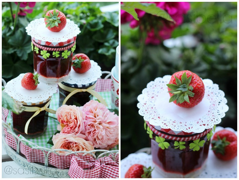 Erdbeerwoche Tag 6 - Verschiedene Sorten Erdbeermarmelade 16