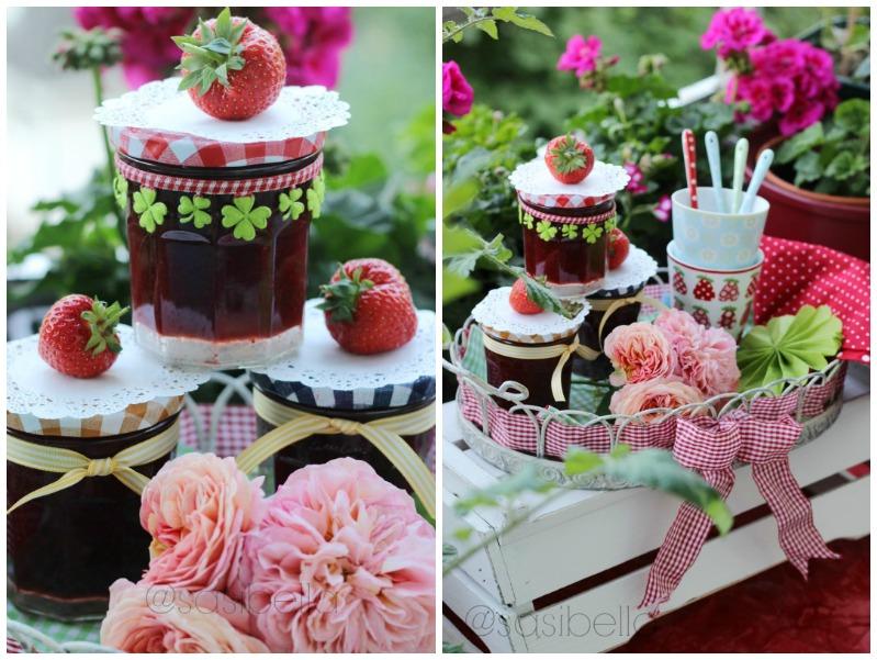 Erdbeerwoche Tag 6 - Verschiedene Sorten Erdbeermarmelade 17