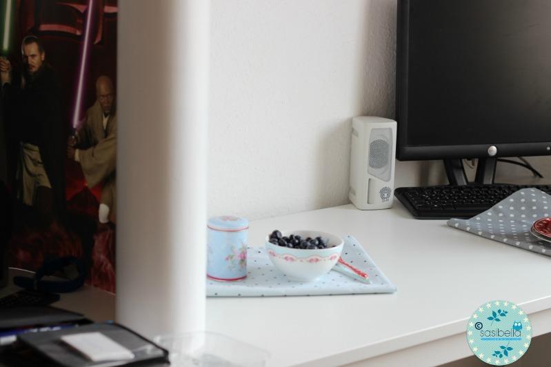 Mascarpone-Quark Torte mit frischen Heidelbeeren und ein kleiner Kinderzimmer-Einblick! 58