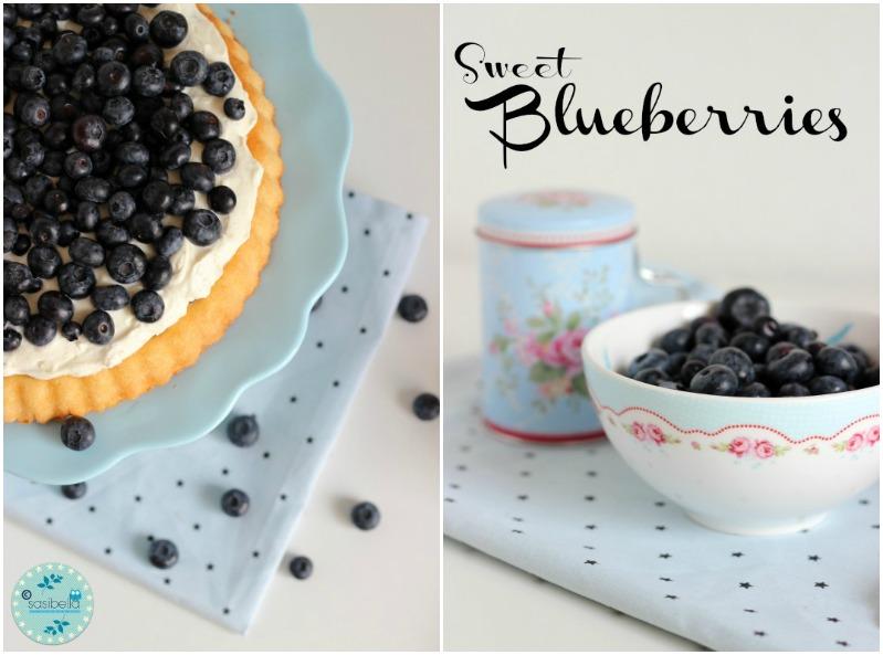 Mascarpone-Quark Torte mit frischen Heidelbeeren und ein kleiner Kinderzimmer-Einblick! 1