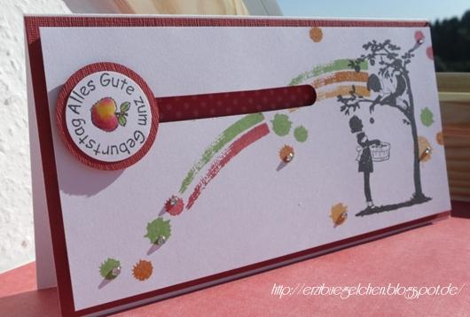 Kreativer Freitag # 7/ 2013 - Apfelbox und Karte 6