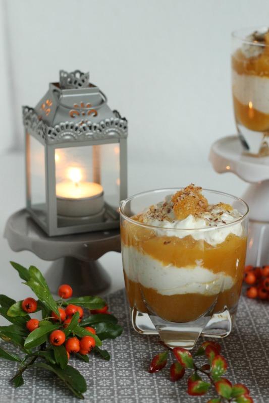 Sanddorn Dessert