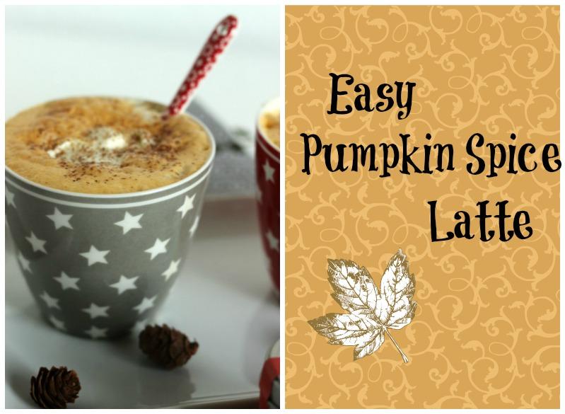 Pumpkin Spice Latte einfach selbermachen 1