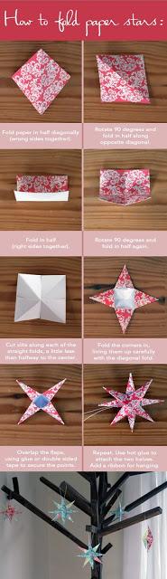 DIY Ideen Sterne