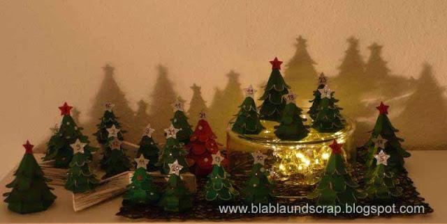 """Adventskalendertürchen # 1 - Gastpost von Silvia """"Weihnachtsbaum Adventskalender"""" 22"""