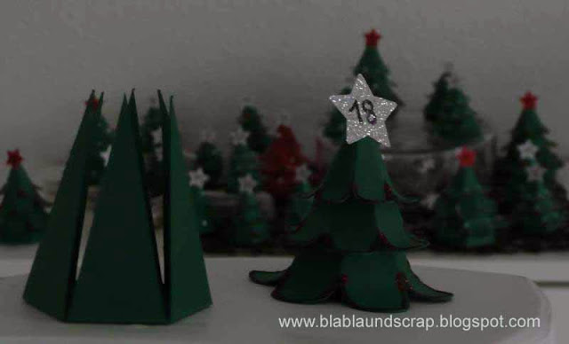 """Adventskalendertürchen # 1 - Gastpost von Silvia """"Weihnachtsbaum Adventskalender"""" 18"""