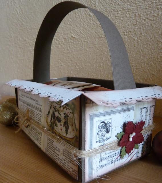 Brotbox aus Papier - Gastpost von stampin funny 1