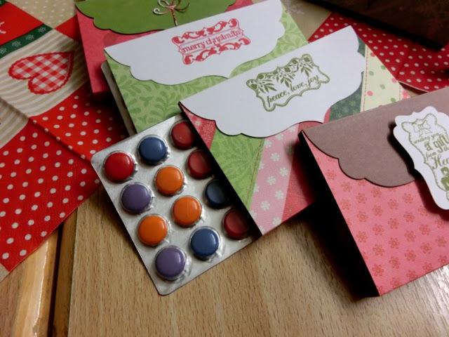 Adventskalendertürchen # 22  Lebkuchenschnitten mit Kirschkompott + Früchtepunsch + meine Weihnachtswerkeleien 8