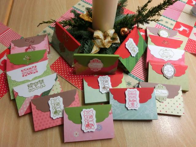 Adventskalendertürchen # 22  Lebkuchenschnitten mit Kirschkompott + Früchtepunsch + meine Weihnachtswerkeleien 35