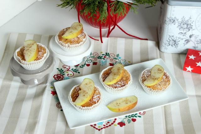 Gewürz-Apfelmus-Muffins