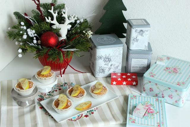 Gewürz-Apfelmus-Muffins, lecker zur Weihnachtszeit 1