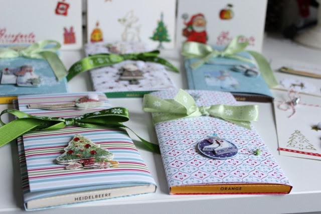 Adventskalendertürchen # 22  Lebkuchenschnitten mit Kirschkompott + Früchtepunsch + meine Weihnachtswerkeleien 37