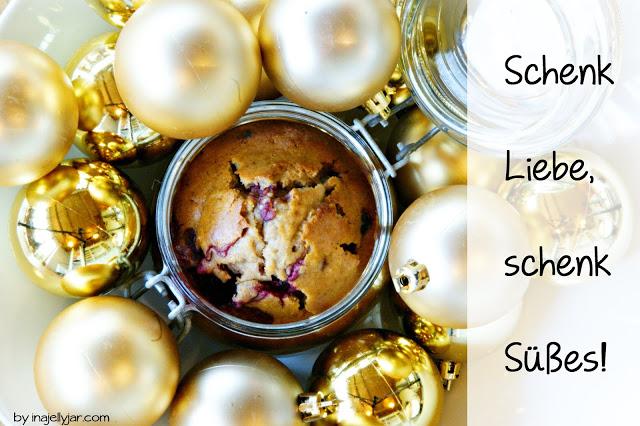 """Adventskalendertürchen # 18 -  Gastpost von Conny (moment in a jelly jar) mit """"Kuchen im Glas"""" 1"""