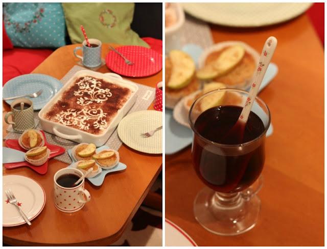 Adventskalendertürchen # 22  Lebkuchenschnitten mit Kirschkompott + Früchtepunsch + meine Weihnachtswerkeleien 6