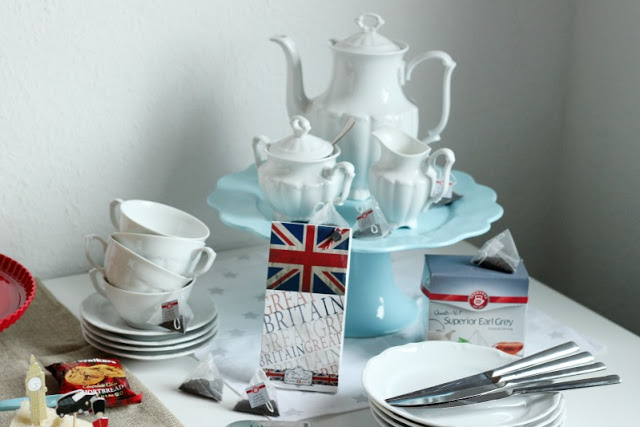 Kreativer Freitag # 1/2014 -  English Afternoon Tea Party 37
