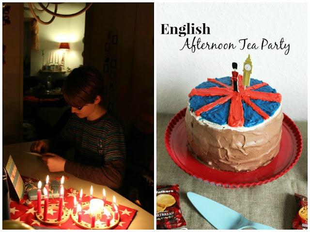 Kreativer Freitag # 1/2014 -  English Afternoon Tea Party 2