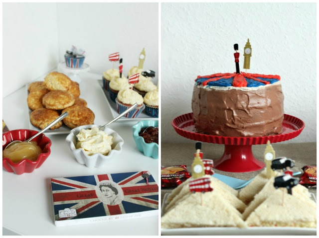 Kreativer Freitag # 1/2014 -  English Afternoon Tea Party 31