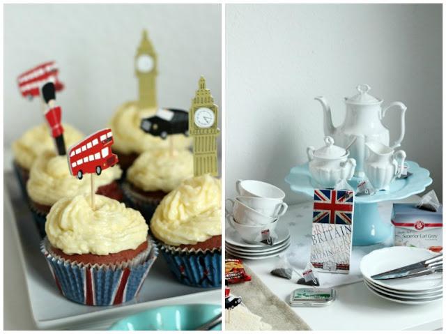 Kreativer Freitag # 1/2014 -  English Afternoon Tea Party 4