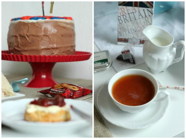Kreativer Freitag # 1/2014 -  English Afternoon Tea Party 8