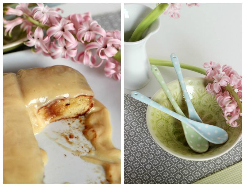 Banana-Sour Cream Cake mit Karamel und White Chocolate Frosting 4