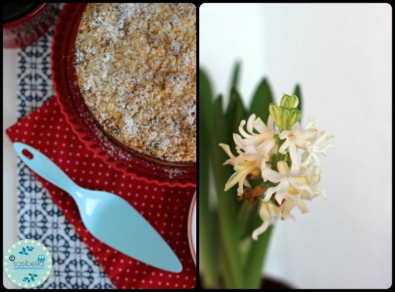 Bratapfelkäsekuchen mit Marzipanstreuseln für Tastesheriff 29