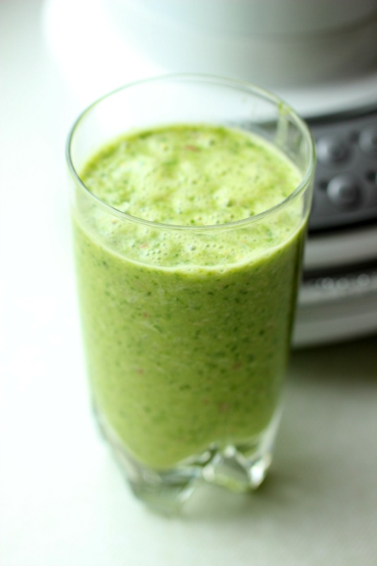 Smoothie of the Day - Green Mango Vanille Smoothie 4