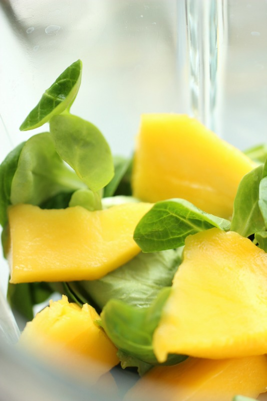 Smoothie of the Day - Green Mango Vanille Smoothie 1