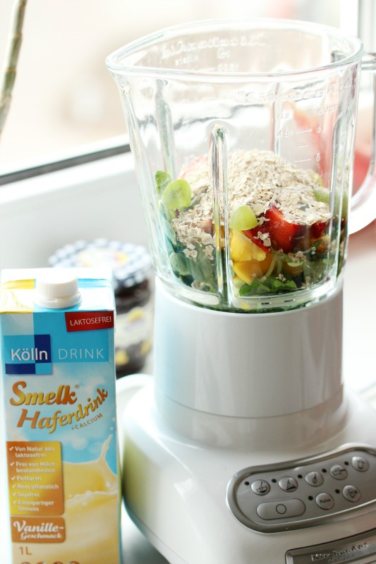 Smoothie of the Day - Green Mango Vanille Smoothie 2