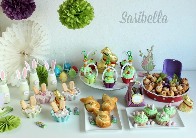 Fremdgebloggt - Ein Sweet Table für Elas Osterkalender 39