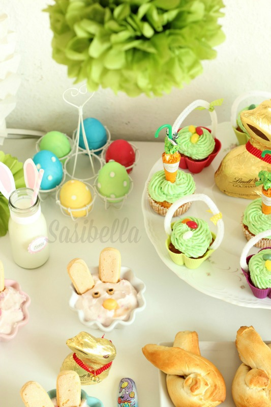 Fremdgebloggt - Ein Sweet Table für Elas Osterkalender 46