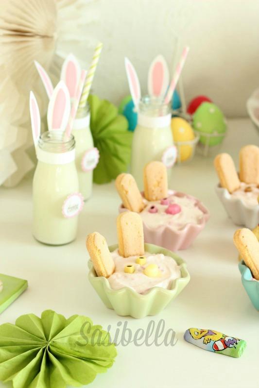 Fremdgebloggt - Ein Sweet Table für Elas Osterkalender 40