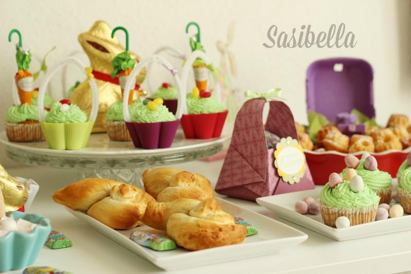 Fremdgebloggt - Ein Sweet Table für Elas Osterkalender 51
