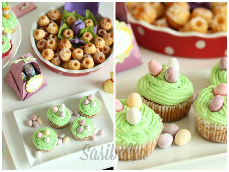 Fremdgebloggt - Ein Sweet Table für Elas Osterkalender 57