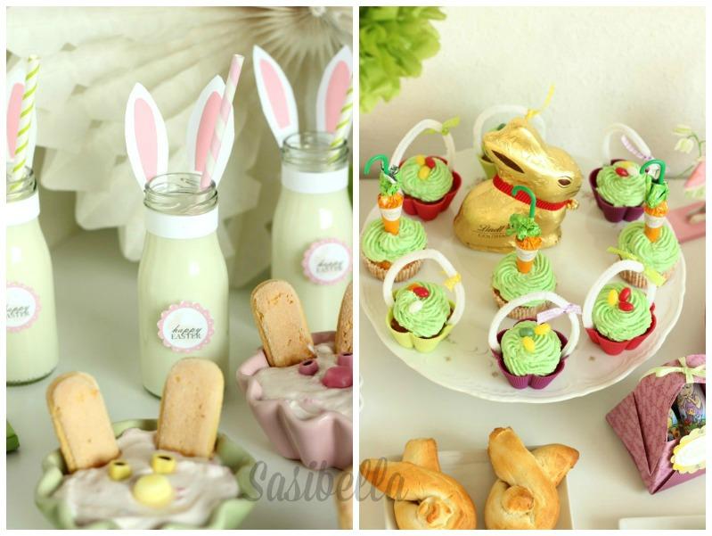 Fremdgebloggt - Ein Sweet Table für Elas Osterkalender 53
