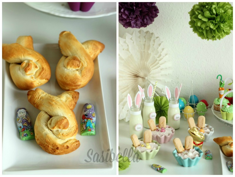 Fremdgebloggt - Ein Sweet Table für Elas Osterkalender 50