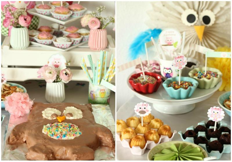 Eulen-Party zum 6. Geburtstag - ein Partybericht 4