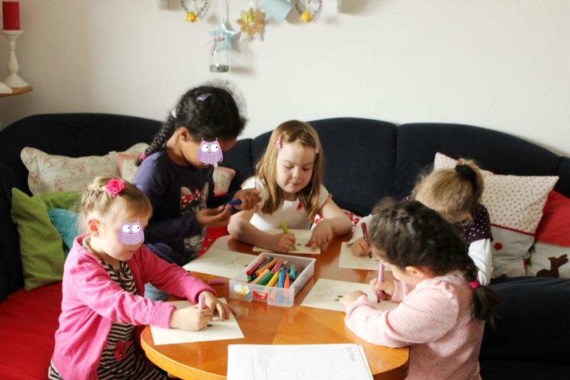 Eulen-Party zum 6. Geburtstag - ein Partybericht 12