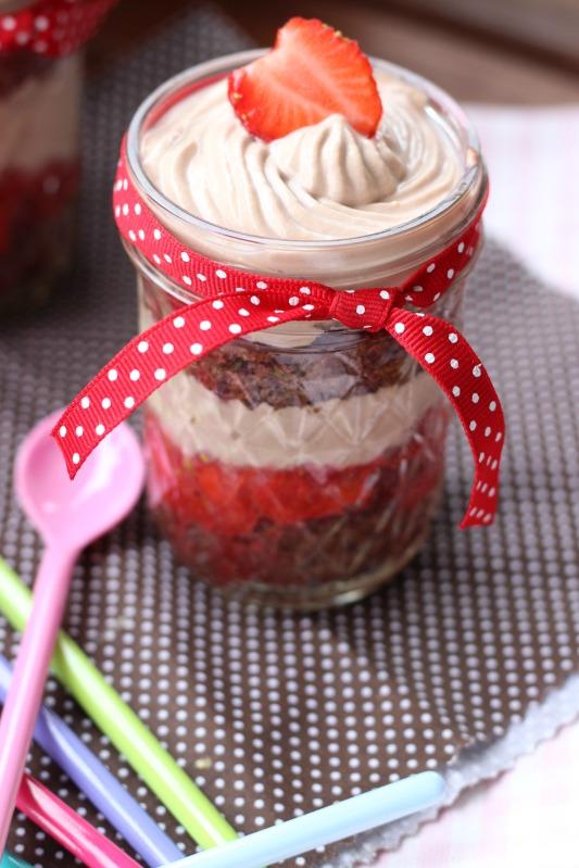 Erdbeer Tiramisu im Glas 6