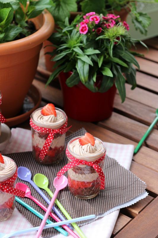 Erdbeer Tiramisu im Glas 4