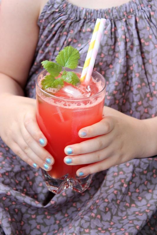 Es ist Sommer - Melonenlimonade und Sauerrahm Erdbeereis 20