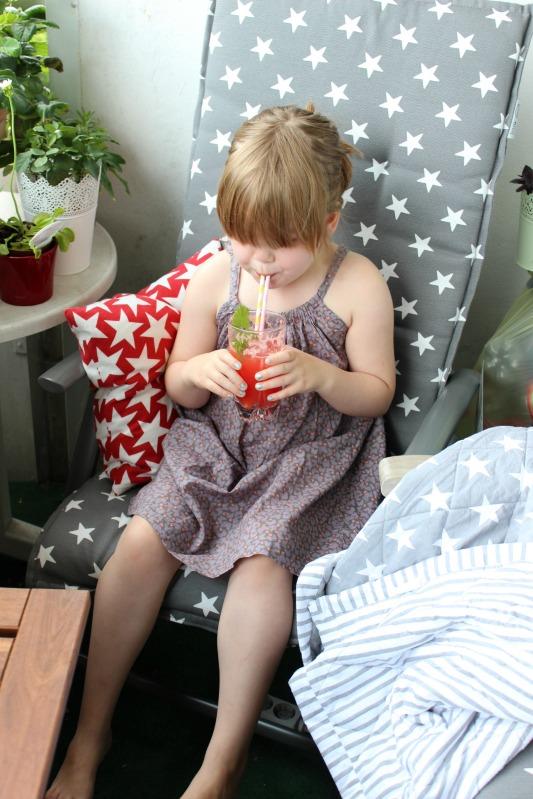 Es ist Sommer - Melonenlimonade und Sauerrahm Erdbeereis 4