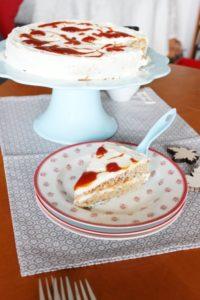 Hagebutten Torte