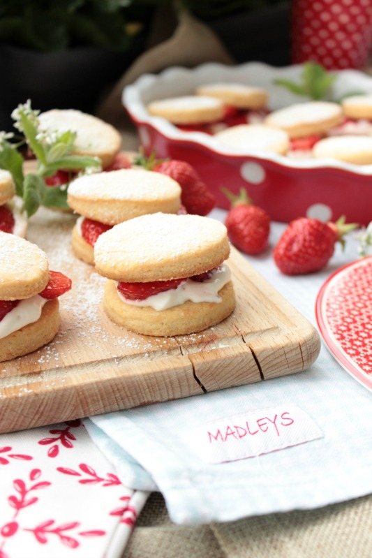 Leckere Strawberry Shortcakes 1