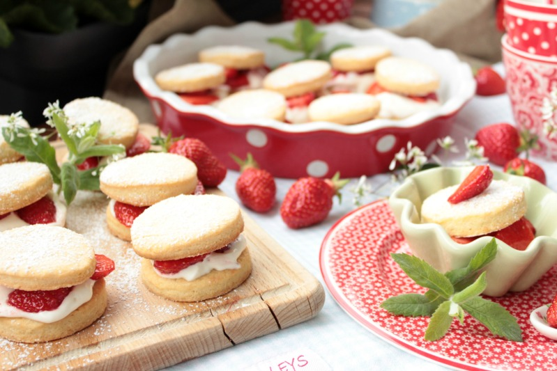 Leckere Strawberry Shortcakes 2