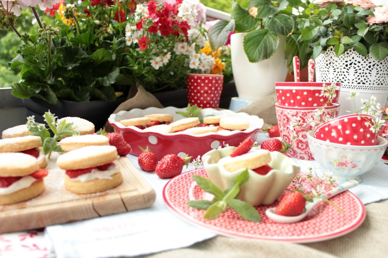 Leckere Strawberry Shortcakes 4